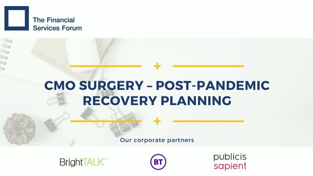CMO Surgery - Post-Pandemic Recovery Planning