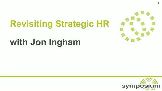 Revisiting Strategic HR