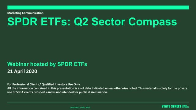 SPDR ETFs Sector Compass: Where to turn next