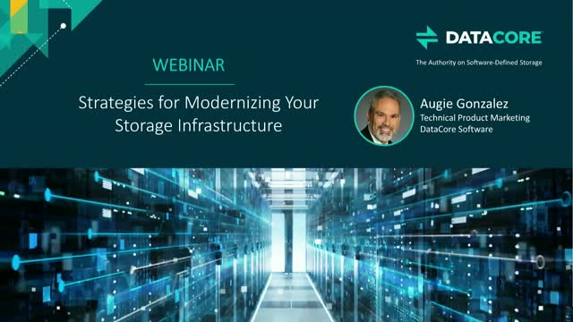 Strategies for Modernizing Your Storage Infrastructure