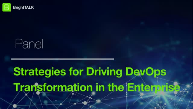Strategies for Driving DevOps Transformation in the Enterprise