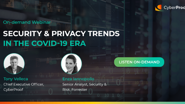 Security & Privacy Trends in the COVID-19 Era