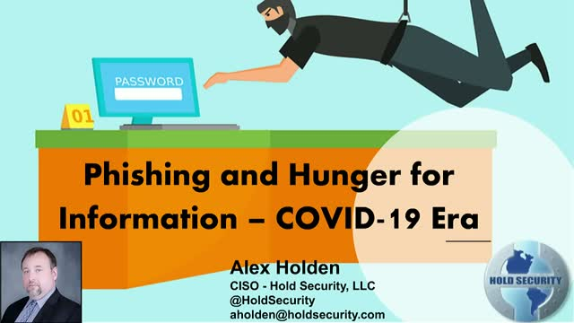 Phishing and Hunger for Information – COVID-19 Era