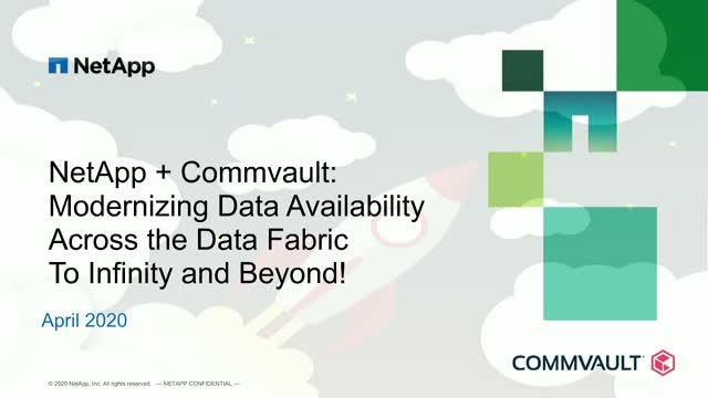 Modernizing Data Availability Across the Data Fabric to Infinity and Beyond!