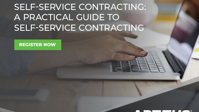 Self Service contracting - Practical Approach