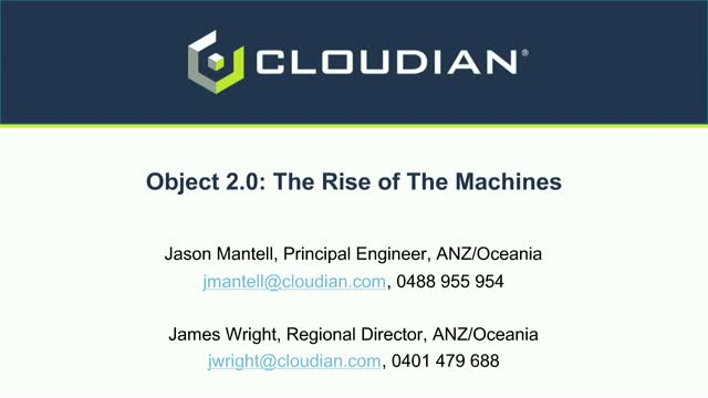 Object 2.0: The Rise of the Machines