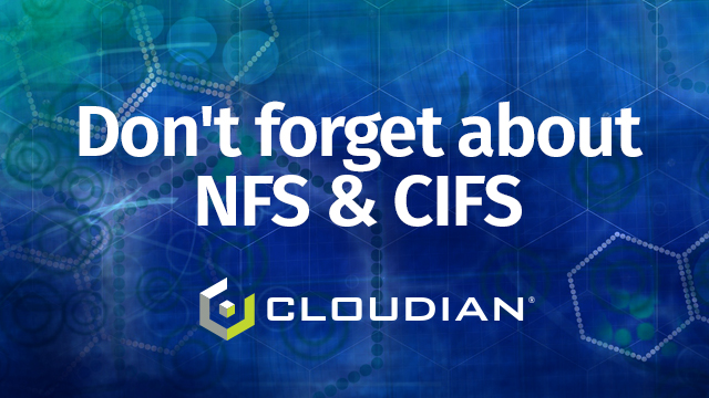 Don't forget about NFS & CIFS