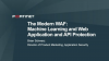 The Modern WAF: Machine Learning and Web Application and API Protection