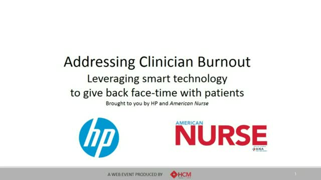 Addressing Clinician Burnout