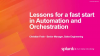 Security Automation & Orchestration. On Your Marks, Get Set, Go!