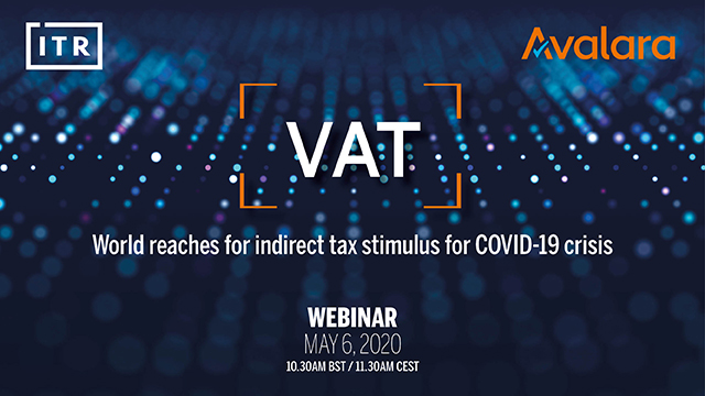 VAT – world reaches for indirect tax stimulus for COVID-19 crisis