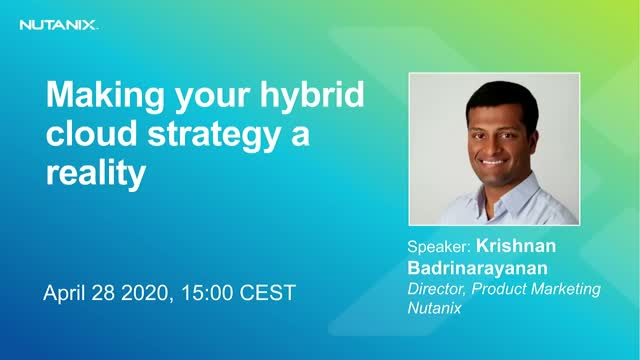 Making your hybrid cloud strategy a reality