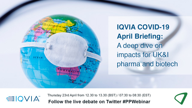IQVIA COVID-19 April briefing: A deep dive on impacts for UK&I pharma + biotech