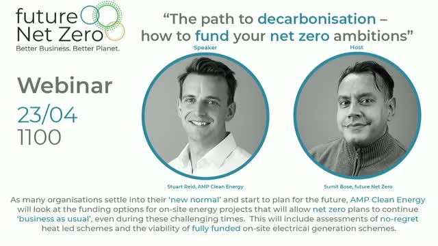 The path to decarbonisation – how to fund your net zero ambitions