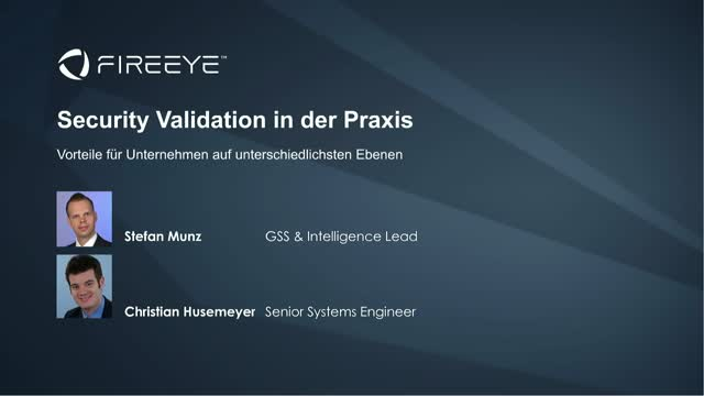 Security Validation in der Praxis