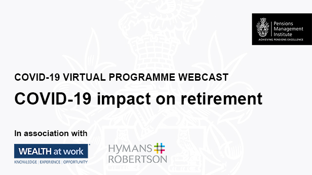 COVID-19 impact on retirement