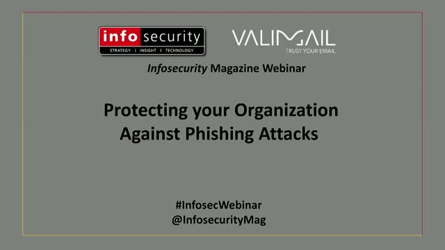 Protecting your Organization Against Phishing Attacks