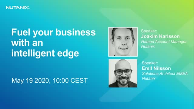 Fuel your business with an intelligent edge