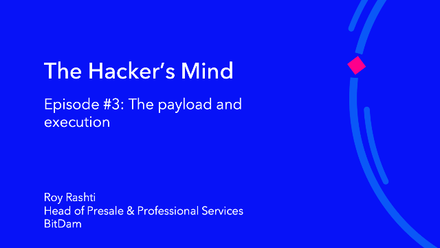 The Hacker's Mind: Episode #3 - The Payload and Execution