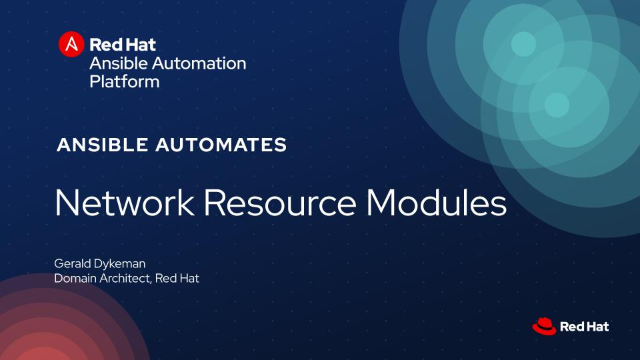 Network Resource Modules