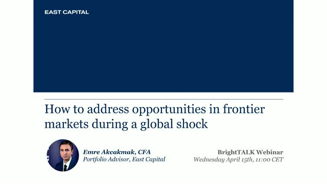 How to address opportunities in frontier markets during a global shock