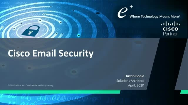 Cisco Breach Defense - Email Security Demo
