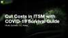 Cut Costs in ITSM with COVID-19 Survival Guide Tips