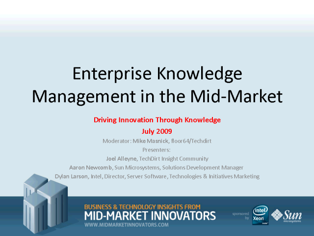 What you need to know about Enterprise Knowledge Management