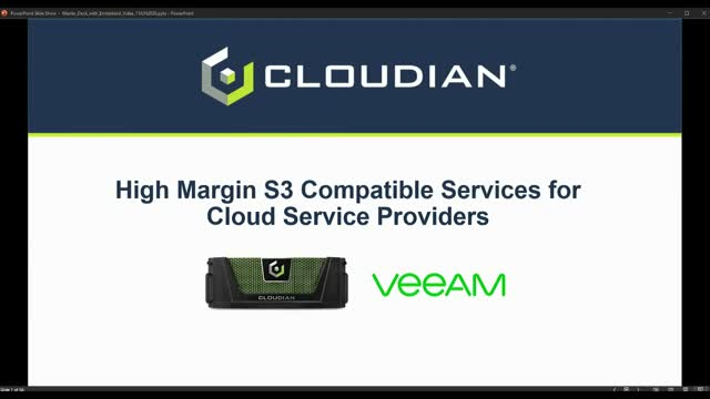 High Margin S3 Compatible Services for Cloud Service Providers