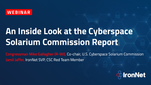 An Inside Look at the Cyberspace Solarium Commission Report