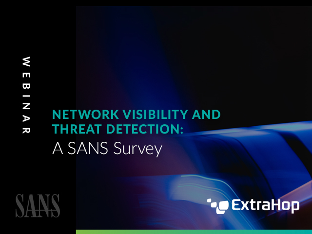 Network Visibility and Threat Detection: A SANS Survey
