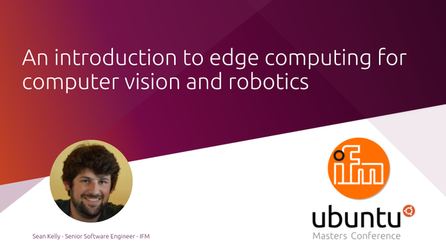 An introduction to edge computing for computer vision and robotics