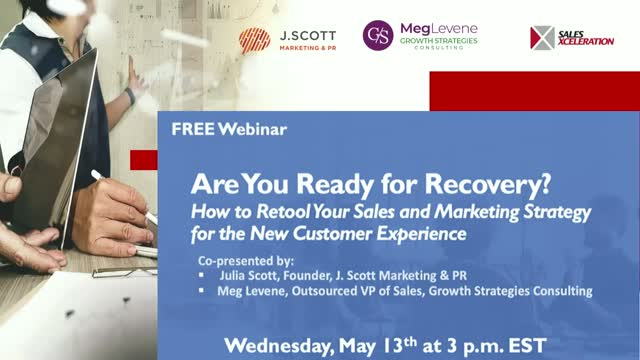 Are You Ready for Recovery? How to Retool Your Sales and Marketing Strategy