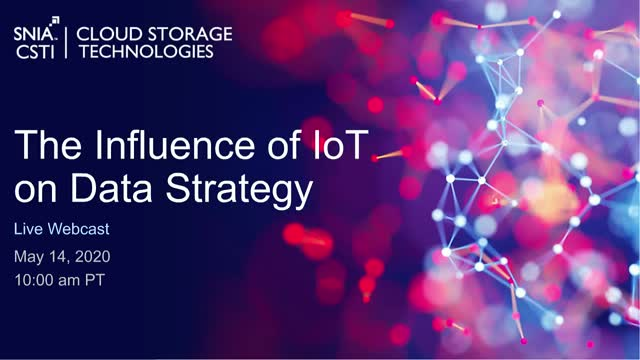 The Influence of IoT on Data Strategy