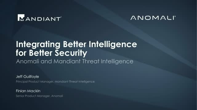 Integrating Better Intelligence for Better Security