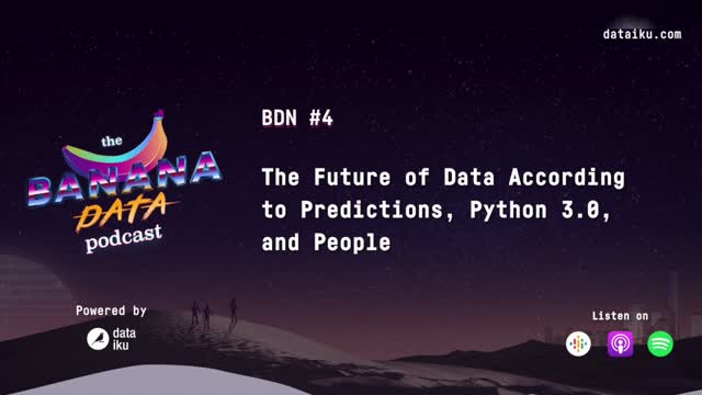 [SEASON 1 EP 4] The future of data according to predictions, Python, & people