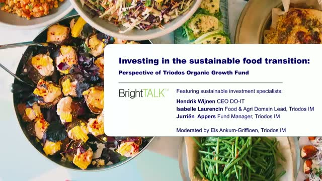 Investing in the sustainable food transition
