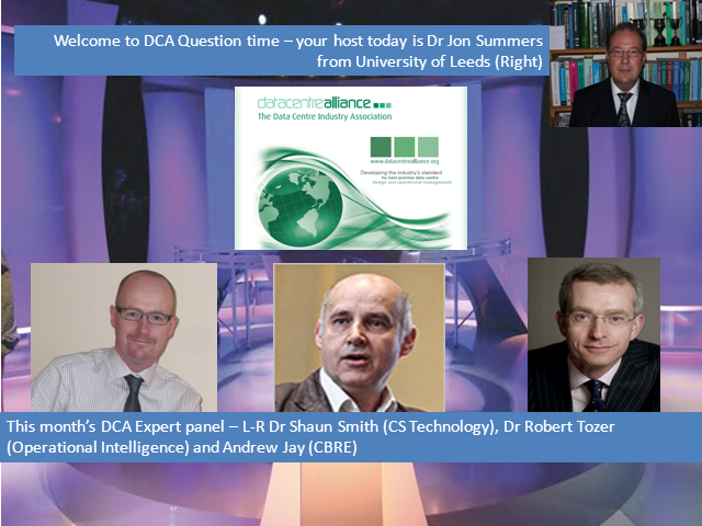 DCA Data Centre Question Time