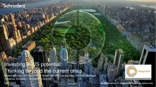 Investing in US potential: thinking beyond the current crisis