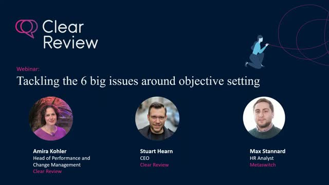 Tackling the 6 biggest issues around setting objectives for your organisation!