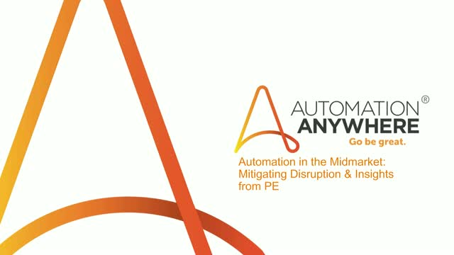 Automation in the Midmarket: Mitigating disruption – Insights from PE