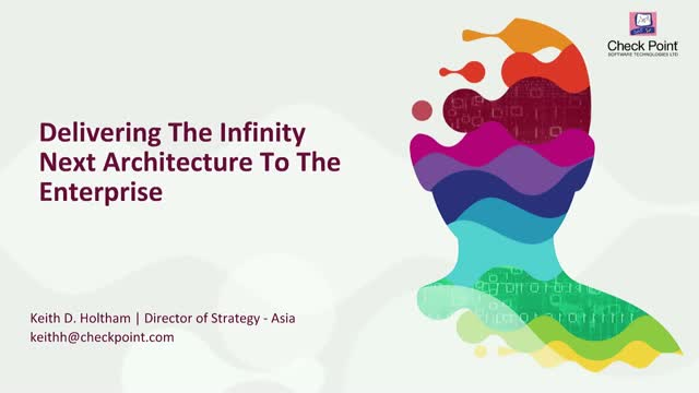 Delivering the Infinity Next Architecture to the enterprise