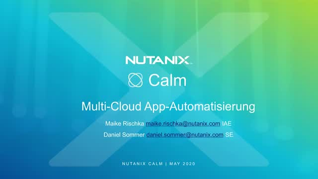 Multi-Cloud App Automatisierung