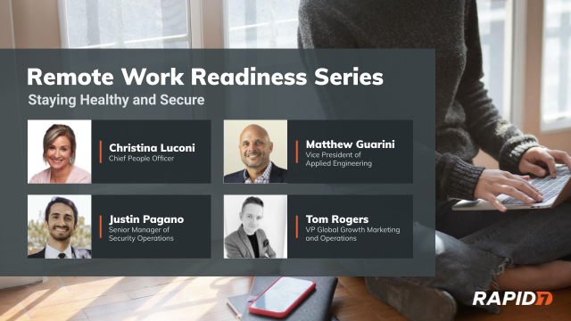 [Panel Talk] Remote Work Readiness: Staying Healthy and Secure