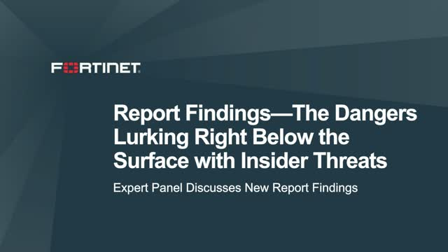 Report Findings—The Dangers Lurking Right Below the Surface with Insider Threats