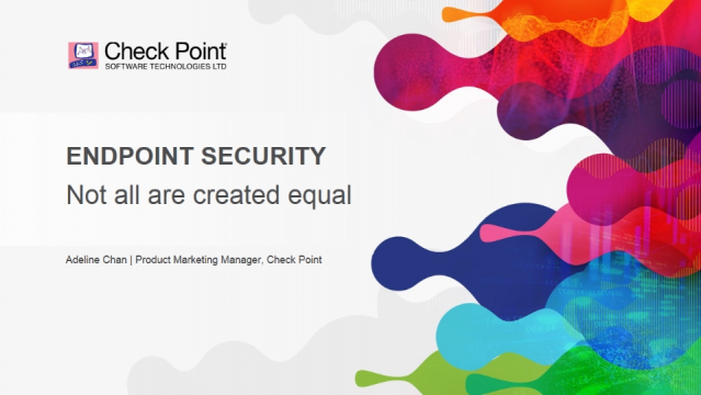 Endpoint security – not all are created equal