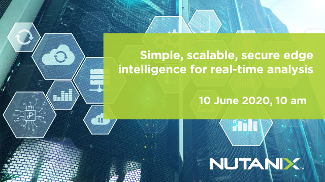 Simple, scalable, secure edge intelligence for real-time analysis