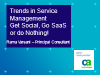 Trends in Service Management: Get Social, Go SaaS or Do Nothing!