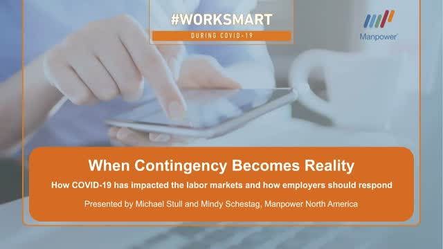Contingency Becomes Reality: COVID-19 impacts and how employers should respond