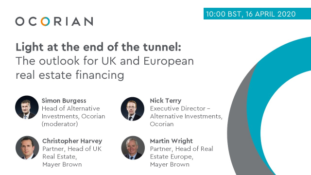 Light at the end of the tunnel: The outlook for UK and European real estate